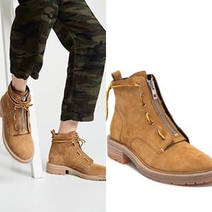 Rag and Bone Cannon Boots Suede